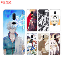 GINTAMA Anime Funny Phone Back Case For OnePlus 7 Pro 6 6T 5 5T 3 3T 7Pro 1+7 Art Gift Patterned Customized Cases Cover Coque