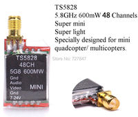 New Version 5 8GHz 600mW 32 Channels Mini Wireless A V Transmitting TX TS5828 For 5