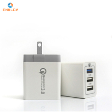 Wall Charger with USB Ports Fast Charge iPhone