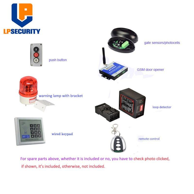 600KGS Heavy duty Electirc Home wooden steel gate Automatic Sliding Gate Operator (GSM Opener,loop detector optional)