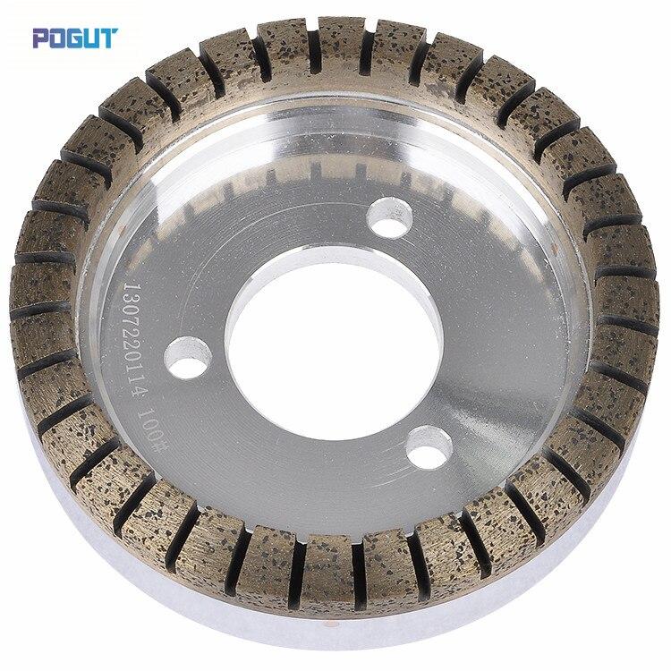 Высококачественные сегментированные алмазные колеса диаметром 175 мм, 80 зернистости, шлифовальные круги для стеклянной машины