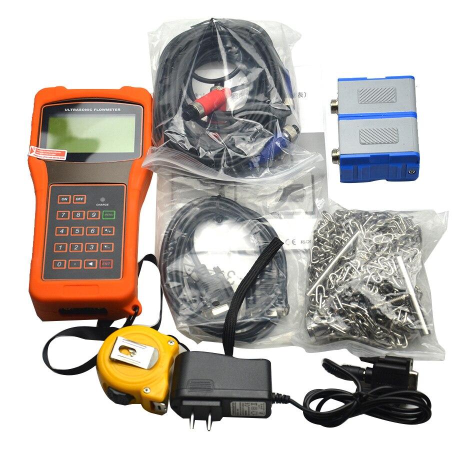 TUF 2000H Digital Ultrasonic Flowmeter Flow Meter with Standard Transducer TM 1 Measuring Range DN50 700mm