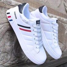 eda1da9303 2019 frühling Weiße Schuhe Männer Schuhe männer Casual Schuhe Mode  Turnschuhe Straße Cool Man Schuhe zapatos