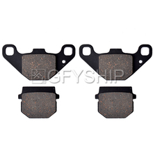 For QUSDZILLA Stinger R250E 2006 300e XLC 2006 2007 300 SE 4 Valve 2006 2007  Motorcycle Front Rear Brake Pads Brake Disks motorcycle accessories brake pads fit buell blast 2000 2007 rear oem red ceramic composite free shipping
