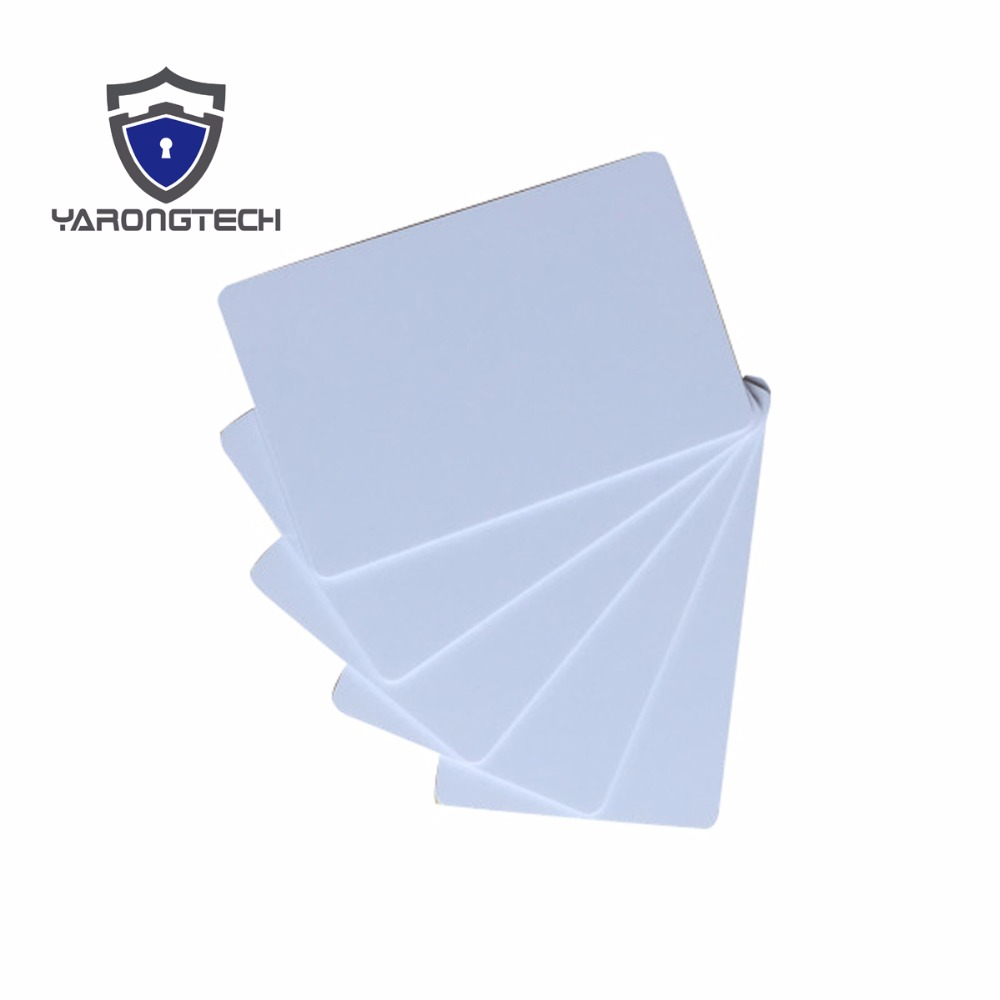 100 Blank ID cards - The Best PVC PLASTIC Credit Card thin CR80 Available free shipping send envelope lace laser cut pink invitations cards for wedding free printing blank paper invitation card kit ribbons big bow