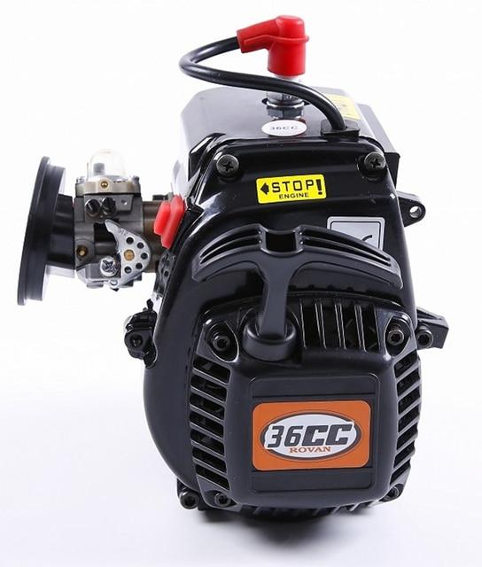 Rovan 36cc 4 Bolts 2-Stroke Gasoline engine with Walbro 1107 carburetor and NGK spark plug for ROVAN LOSI 1:5 RC gasoline car