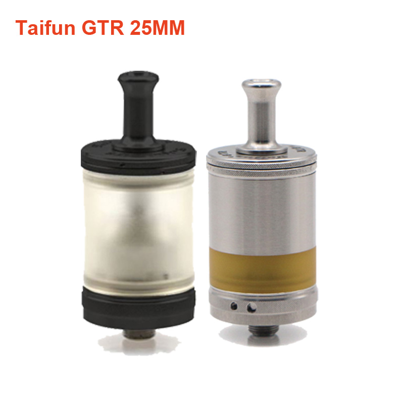Newest Shenray Taifun GTR MTL RTA 4.5ml Capacity 25mm Tank 510 Thread Atomizer 316SS PSU Material TF RTA Vaporizer VS Gt4 Bt Gt3