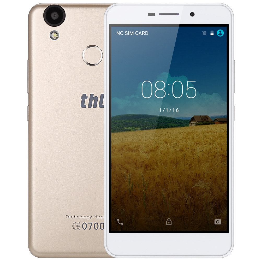 THL T9 Pro Android 6.0 Smart Phone 5.5 Inch 4G MTK6737 Quad Core Mobile Phone 2G+16G Fingerprint Scanner BT 4.0 GPS Cellphone