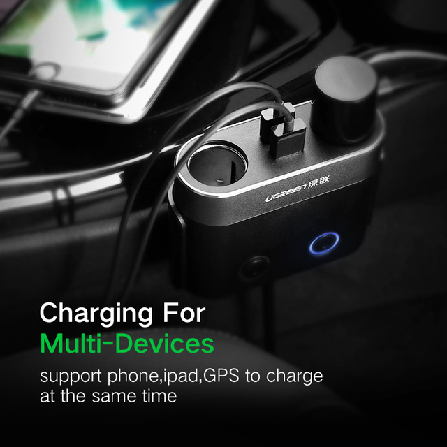 Dual USB Car Charger for Phones