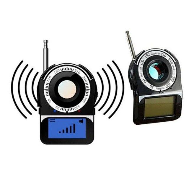 GPS GSM Signal WIFI G4 RF Tracker Pinhole Camera Bug Finder Anti Spy Detector Anti Candid Camera Detecting