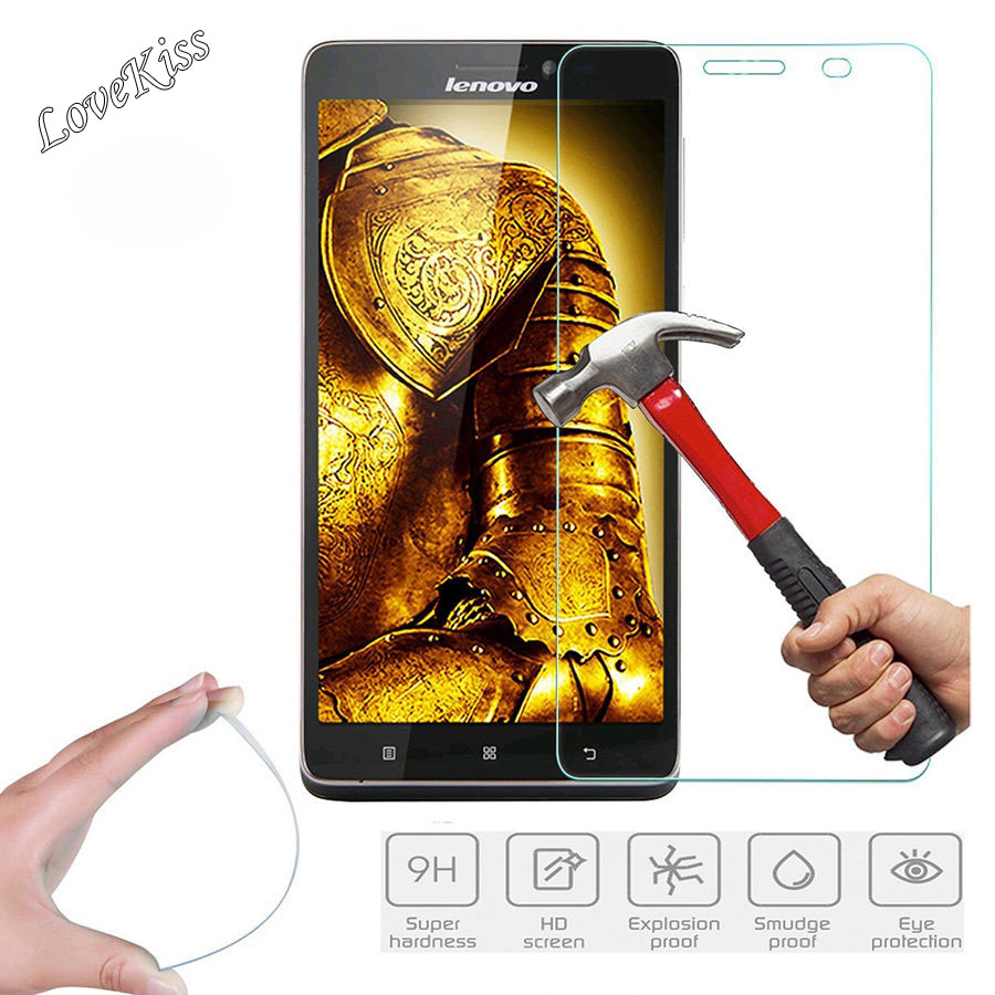 9h Tempered Glass Screen Protector Film For Lenovo Vibe B A Plus Z90 Livo S90 C C2 K3 K4 K5