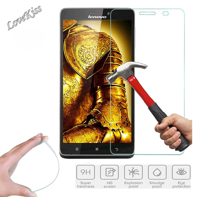 9H Tempered Glass Screen Protector Film For Lenovo Vibe C Z90 C2 S90 K3 K4 K5 A Plus K6 Power Note A6010 P70 A2010 A5000 P2 Case