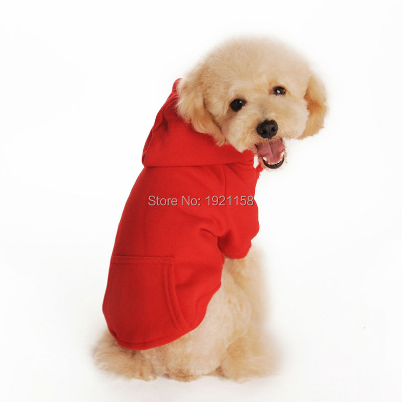 2016 New Pet Dog Clothes dog hoodie Apparel Soft Cotton Puppy Dog coat Clothes Dog Sweater Costumes