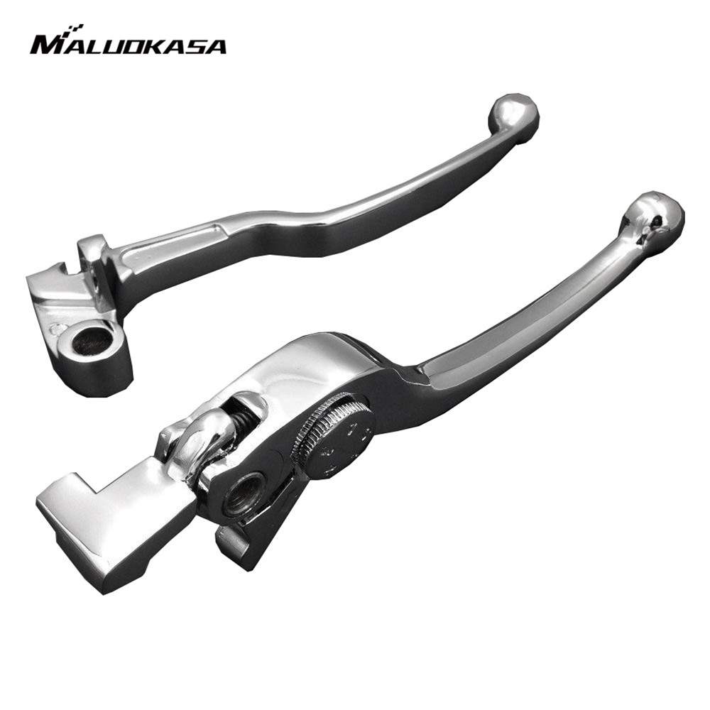 MALUOKASA Motorcycle Brake Clutch Levers Handlebar For Yamaha YZF-R1 1999-2003 YZF-R6 1999-2004 Yamaha FZ1/FZS1000 2001-2005 cnc motorcycle brake clutch levers for yamaha yzf r1 1999 2003 yzf r6 1999 2004 fz1 fzs1000 2001 2005 chrome black