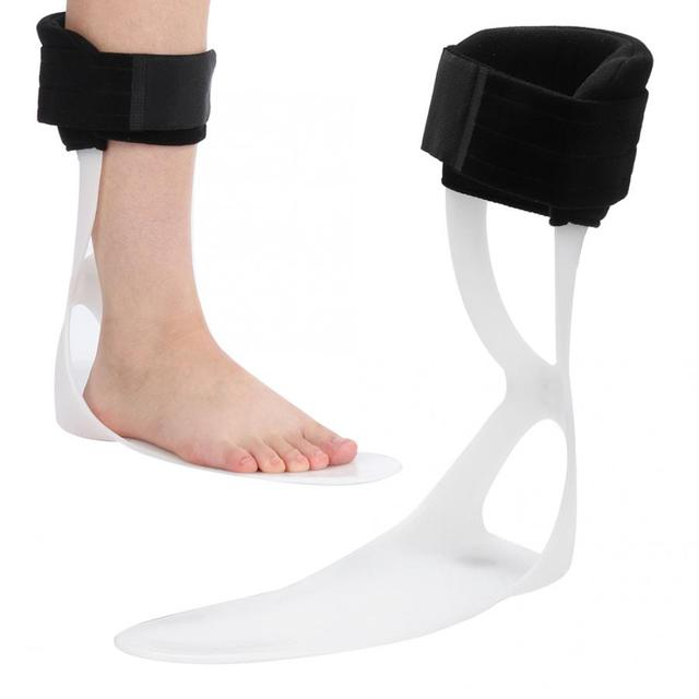 4 Types Posture Correction Foot Drop Corrector Ankle Splint Braces Orthosis Foot Corrector for Left Right Foot