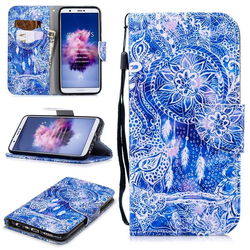 Phone Case For huawei honor 6a 7 7c 8 9 Flip Wallet Leather Case Cover For huawei enjoy 7s wallet 360 Full protective Back Case
