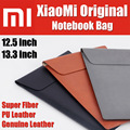 Mi Original Laptop Sleeve Bag Case Fiber PU Genuine leather for Macbook Air 11/12 inch For Xiaomi Mi Notebook Air 12.5 13.3