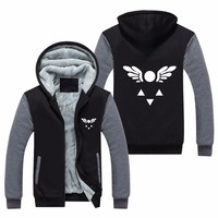Undertale Papyrus And Sans skull cosplay costume skull outfit jacket coat fleece thick winter coat hoodie