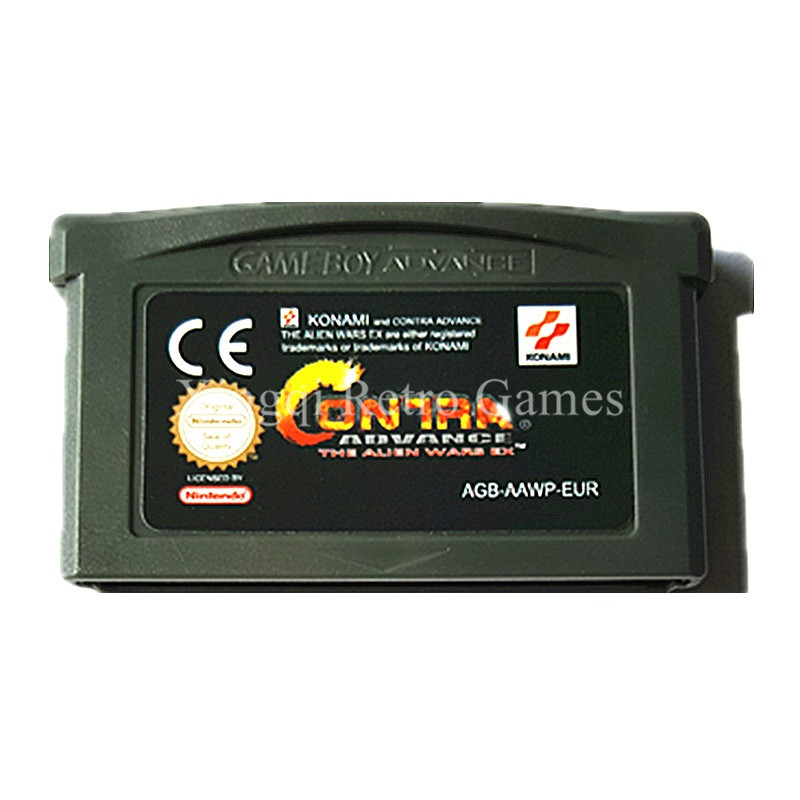 Nintendo GBA Game Contra Advance The Alien Wars EX Video Game Cartridge Console Card EU English Language