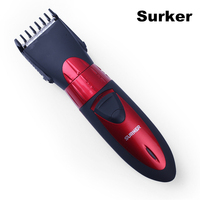 Surker Professional Electric Hair Clipper Rechargeable Waterproof Hair Trimmer Adjustable Haircut Machine For Men Children