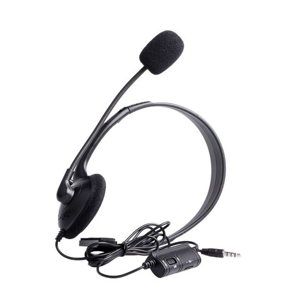 Wired Headset Headphone Earphone Microphone for Sony PlayStation 4 PS4 Game With MIC And ON/OFF Control, Perfect For Play Game 3
