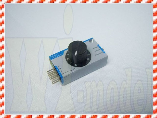 Wholesale+Retail F01476 Servo Tester Adjuster,Speed controler tester For Esky Parts EK2-0907 000504