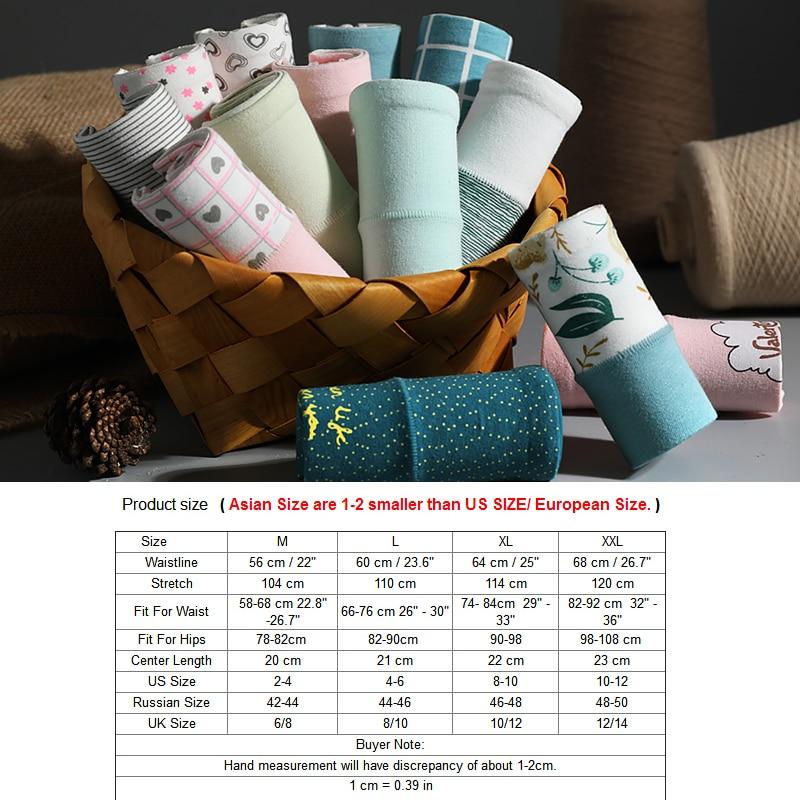 LANGSHA Cotton Underwear Lingerie Intimates Women Panties Seamless Girls High-Waist Breathable