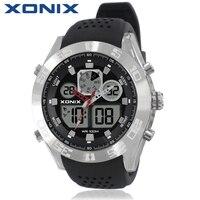 Xonix Men Sports Watches Waterproof 100m Analog Digital Watch Running Swimming Diving Wristwatch Relojes Hombre Montre