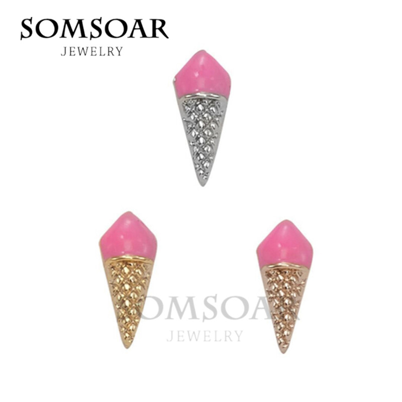 2018 New Arrival Ice Cream Original Charms fit Leather wrappable Mesh Stainless steel Bracelet Bangle 10pcs/lot