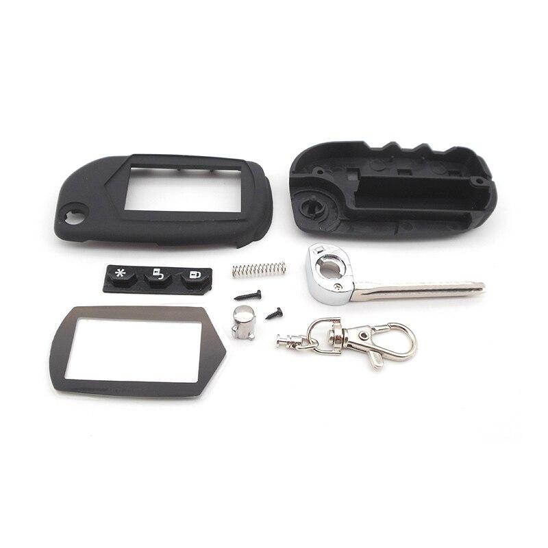 A91 Складной автомобильный флип-ключ starline чехол с дистанционным управлением Starline A91 A61 B9 B6 чехол-брелок с необработанным лезвием бесплатная д...