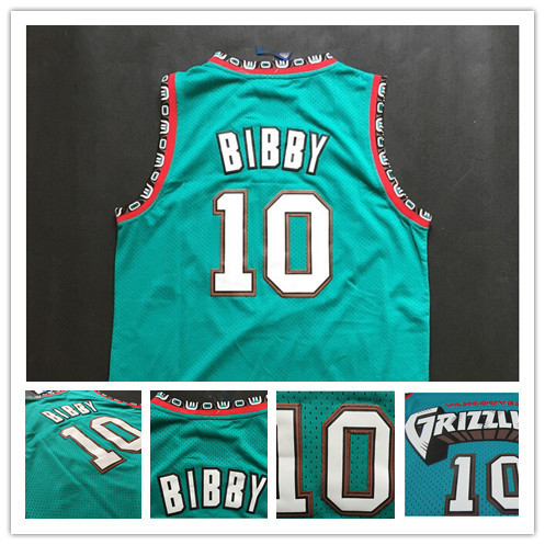 10 Mike Bibby Old Vancouver Jersey Teal Green Turquoise PRO New Michael  Bibby Throwback Basketball Jersey Stitched Best Seller 79151d98a