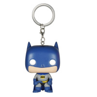 Funko Pop Batman Cartoon Doll Keychain Pendant Batman Vs Superman Boys Toy Creative Ornaments Decorations Christmas