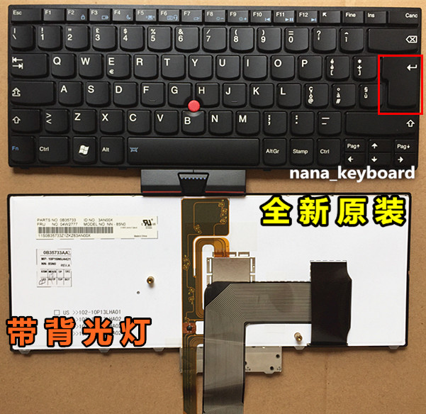 New notebook Laptop keyboard for  IBM thinkpad X1  IT/italy layout laptop keyboard for clevo p157sm p177sm black it italy v132150bk3