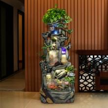 Baitong японский сад стиль Рыбная чаша проточный фонтан фэншуй лодка офис посадка подарок
