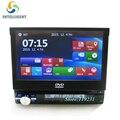 """7 """"tela sensível ao toque Universal 1 DIN Car DVD PLAYER GPS rádio do carro SWT Retrátil de ÁUDIO estéreo com GPS Navigation BT SD USB tela"""