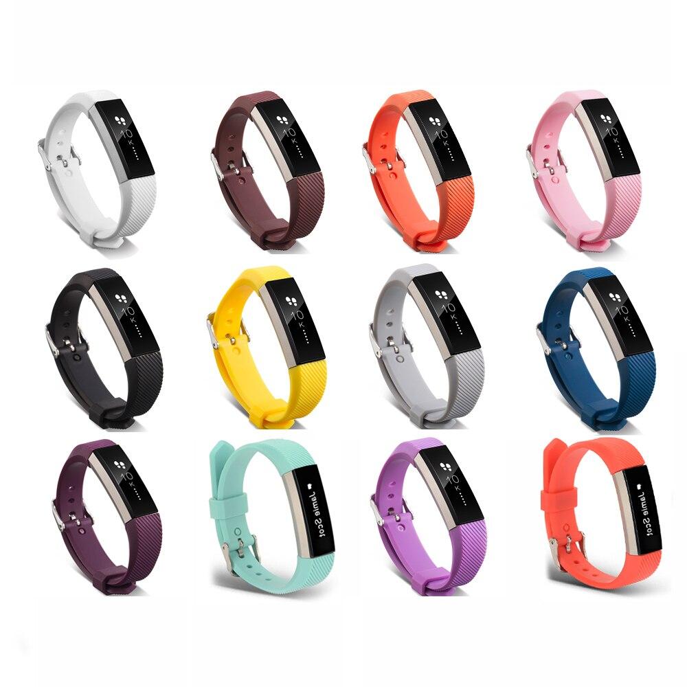 Bandă de înaltă calitate cu silicon moale reglabilă pentru Fitbit Alta HR bandă brățară brățară Curea brățară Watch Accesorii înlocuire