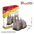 Кэндис го! новый приход 3d-головоломка игрушка CubicFun 3D бумажная модель MC160H КЕЛЬНСКИЙ собор хорошо для подарок 1 шт.