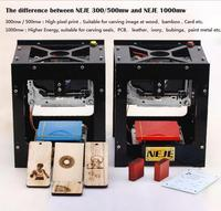 500mW Laser Engraver Printer High Power For Hard Wood Rubber Leather Cut Paper Laser Engraving Machine