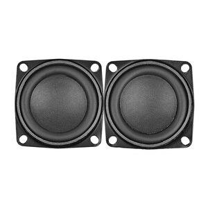 Image 2 - AIYIMA 2 قطعة 2 بوصة مكبر صوت 53 مللي متر المتحدثين مجموعة كاملة باس 4 أوم 10 W الوسائط المتعددة الصوت مكبر الصوت ل DIY