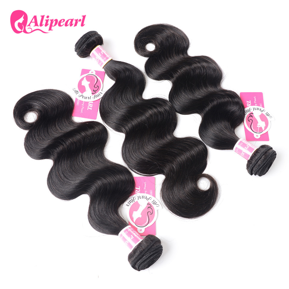 Hair Weaves Hair Extensions & Wigs Good Ali Pearl Loose Deep Wave Bundles Brazilian Hair Weave 1 Bundle 100% Human Hair 3 And 4 Bundles 8-26 Inches Remy Hair Extension