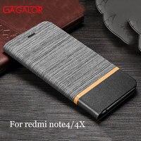 For Xiaomi Redmi Note 4X Case Leather Mobile Phone Accessories Phone Bags Cases For Xiaomi Redmi