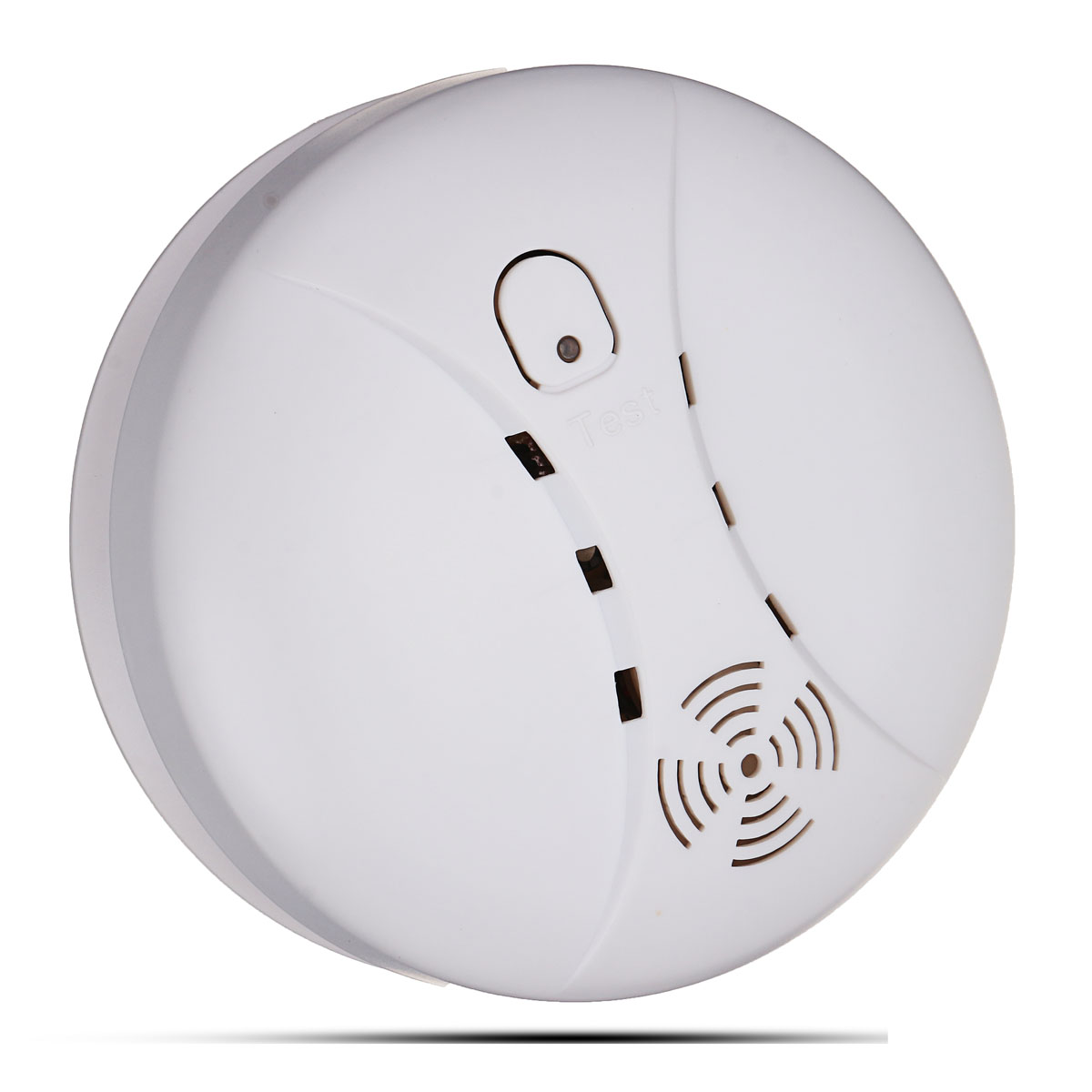 NEW 9V Wireless Smoke Alarm Sensor Detector With 85dB Home Security High Sensitive anti lost door alarm home security high sensitive alarm detector vibration alarm device electric aaa dry battery free shipping