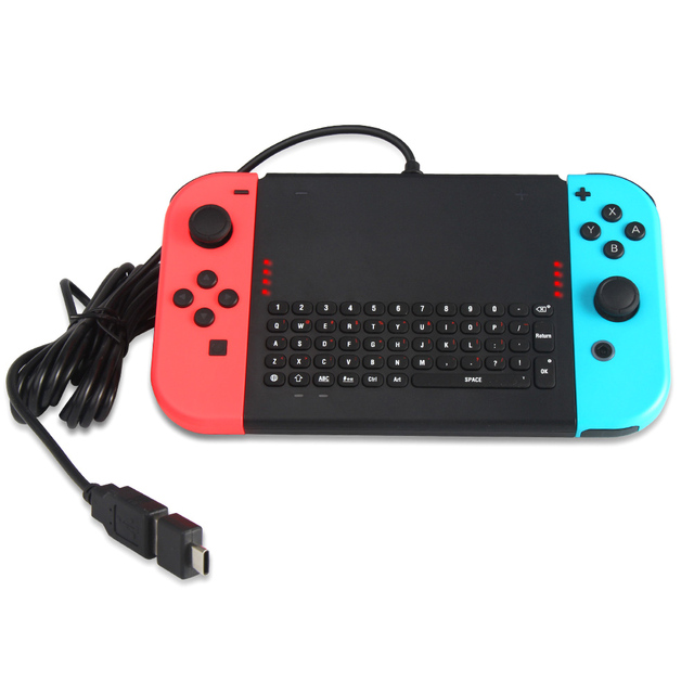 US $19 34 |Wired Keyboard Keypad TNS 1777 Game Chat ABS Durable USB TYPE C  For Switch JOY CON XXM8-in Keyboards from Computer & Office on