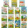 Сцены наклейки книги ребенка неоднократно наклейки детская Английский иллюстрированные книги играть стикер книжка-раскраска 5 шт. за комплект