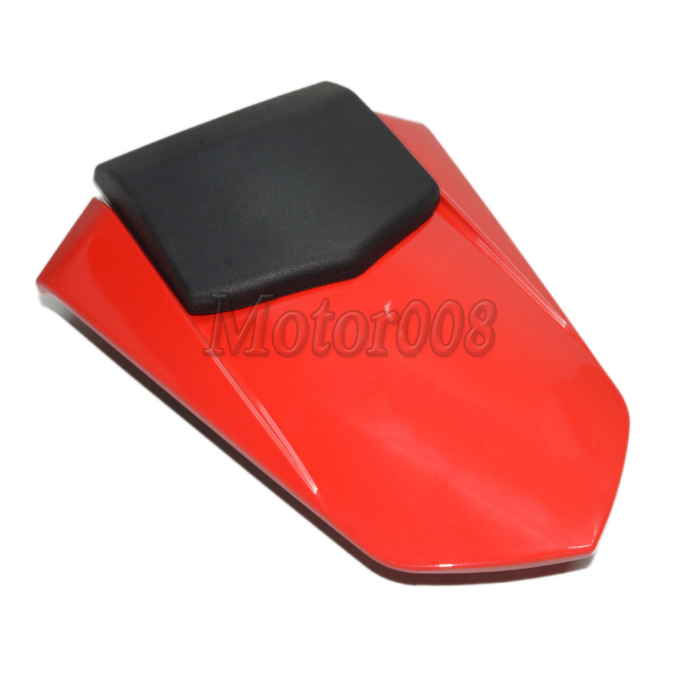 Motorcycle Rear Pillion Gloss Red Seat Cowl Fairing Cover For Yamaha YZF R1 2007 2008 Motorbike Rear Seat Cover