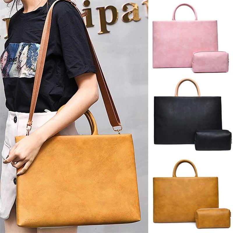 2019 New Universal Laptop Bag Shoulder Bag 13 14 15 Inch Notebook Handbag Sleeve Case For MacBook Air Pro 13 15 For HP Dell Acer