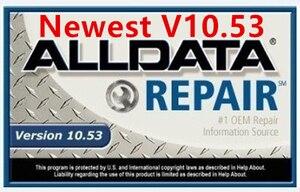 Image 4 - 2020 Hot Tutti I Dati 10.53 Software di Riparazione Auto Alldata M .. Chell 2015 Software Atsg 3in1 1TB HDD Installato in Del Computer Portatile D630 4g di RAM