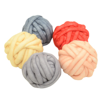 500g Ball Super Thick Iceland Cashmere Yarn Soft Baby Cotton Yarn For Hand Knitting Crochet Blanket