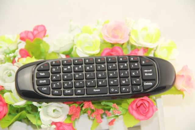 Gyroscope Fly Air Mouse T10/C120 keyboard Android Remote Control Rechargeable 2.4Ghz Wireless Game Keyboard For Smart Tv Box PC