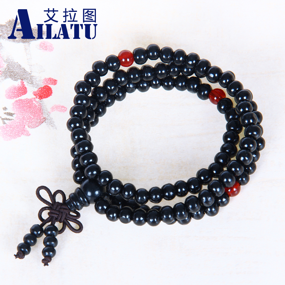 Black Wood Rosary | Wooden Thing